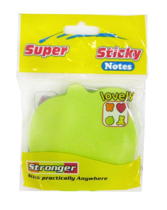 Бумага для заметок с липким слоем фигурные 100л. Super Sticky 023