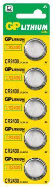 Батарейка (таблетка) GP 1шт CR2430-U5 литиевая