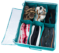 Органайзер для обуви на 6 пар ORGANIZE Lzr-O-6 лазурь