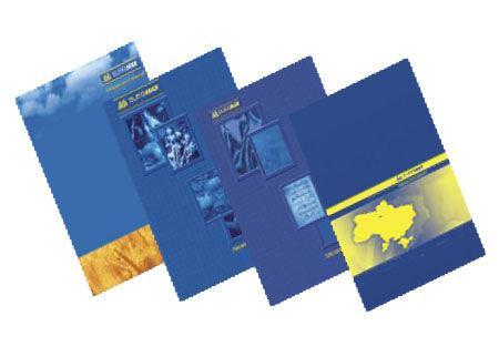 Тетрадь А4 96л. твердая картонная обложка офсет ламинат Buromax кл. 2400
