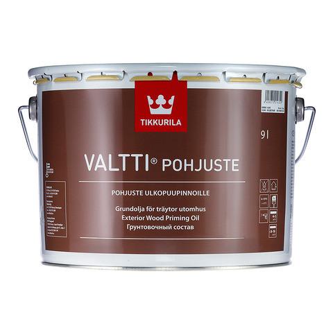 Грунтовочный антисептик для древесины Tikkurila Валти Праймер (Valtti Primer), 2,7л