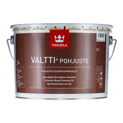 Грунтовочный антисептик для древесины Tikkurila Валти Праймер (Valtti Primer), 0,9л, фото 2