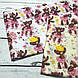 Хлопковая ткань польская мишки в сиреневых юбочках и в желтых коронах на молочном №158, фото 4