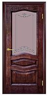Межкомнатные двери ЛЕОНА ПО ПАТИНА ОРЕХ