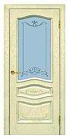Межкомнатные двери ЛЕОНА ПО ВАНИЛЬ