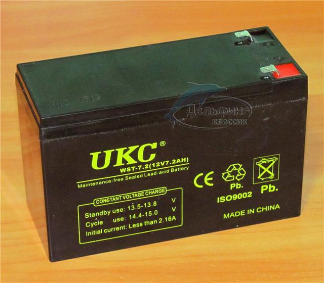 Аккумулятор UKC 12V 7A
