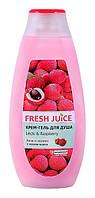 Крем-гель для душа Fresh Juice Litchi & Raspberry - 400 мл.