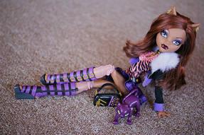 Фотосессия Клодин Вульф (Clawdeen Wolf) Monster High 15