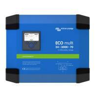 Инвертор гибридный  ECOmulti 24/3000/70-50 2.3kWh LiFePO4 (3 кВА/2.5 кВт, 1 фаза)