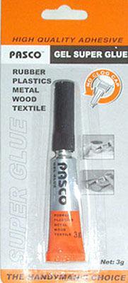 Клей Super Glue Pasco 3гр Гель №967/С-007