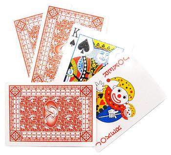 Карты игральные 1 колода 54 карты картонные, в картонной упаковке POKER Grand Royal Y040