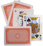 Карты игральные 1 колода 54 карты, пластиковое покрытие Plastic Coated, в картонной упаковке Y-042