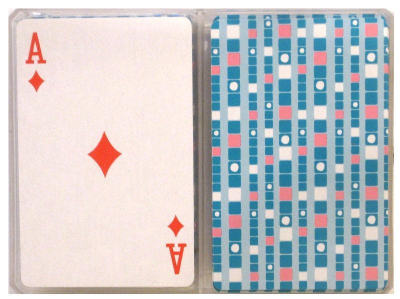 Карты игральные 2 колоды 54 карты пластиковые, в пластиковой упаковке High Quality F-36