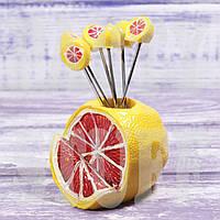 Подставка под шпажки Грейпфрут
