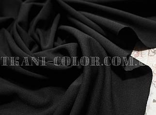 Трикотаж креп- дайвинг черный