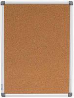 Доска пробковая 60*90 деревянная рамка Buromax 0014