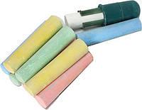 Мелки цветные 12шт 1 Вересня Jumbo+держатель 400068