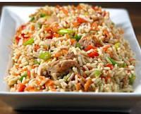 Рис запеченный с овощами