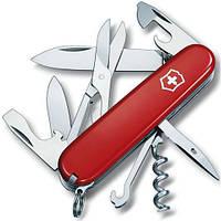 Victorinox Climber 91 мм 14 предметов красный + штопор + ножницы + крюк Vx13703