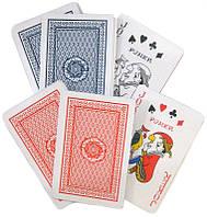 Карты игральные 2 колоды 54 карты картонные, в картонной упаковке POKER Club Special Y012/30801