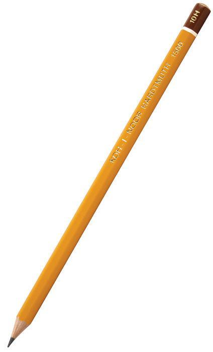 Карандаш простой графитный KOH-I-NOOR Hardmuth 1500 2H