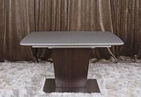 Стол Чикаго 1400/1850*900 (ассортимент цветов) (с доставкой) Мокко/Дуб