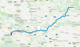 Перевозка топливных гранул из Украины в Польшу