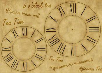 Декупажная карта-бумага 31*44см 45г/м 01137 Tea Time