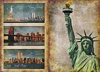 Декупажная карта-бумага 31*44см 45г/м 01477 Манхетен