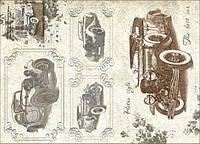 Декупажная карта-бумага 31*44см 45г/м 01290 Винтажная роскошь