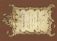 Декупажная карта-бумага 21*30см 45г/м 018585 Серенада Бетховена