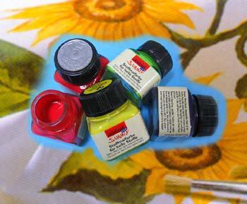 Краска по светлой ткани KREUL 20мл Голубая королевская KR-90507