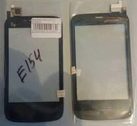 Сенсорный экран для FLY E154 Black