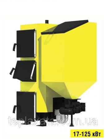 Пелетний опалювальний котел на твердому паливі Kronas (Кронас) Combi 50