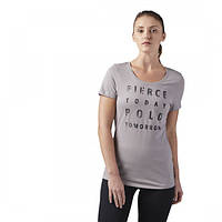 Спортивная женская футболка Рибок Fierce Today для тренировки CF4498