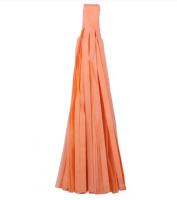 Кисточка тассел из тишью оранжевые 35 см