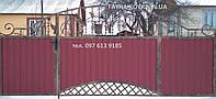 Ворота с калиткой 6300