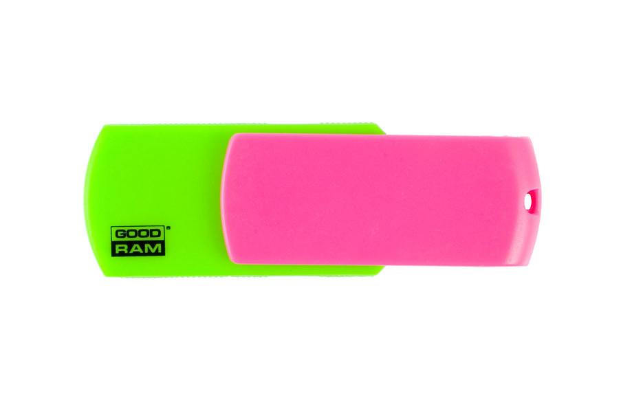 Флешка, USB Флеш накопитель Goodram COLOR MIX Зел+розов 8GB