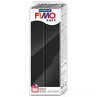 Полимерная глина пластика FIMO Soft 350 г, черный №9