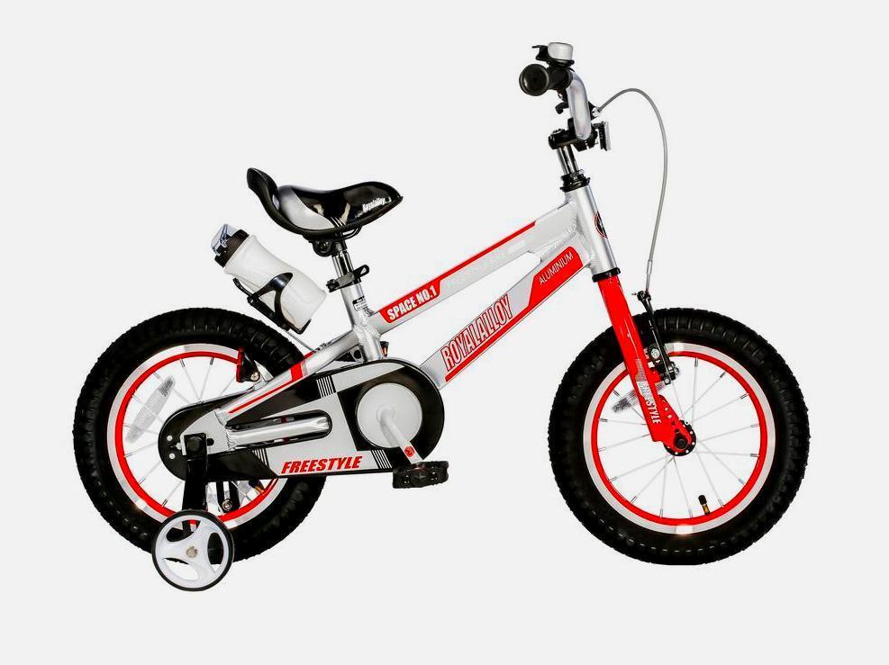 """Детский велосипед Royal Baby SPACE NO.1 16""""  Серый"""