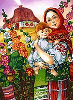 Схема для вышивки бисером POINT ART Украинское лето, размер 22х30 см