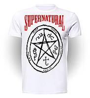 Футболка GeekLand Сверхъестественное Supernatural star art SN.01.002