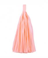 Кисточка тассел из тишью персиковые 25 см, фото 1