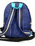 Джинсовий рюкзак Стіч, фото 3