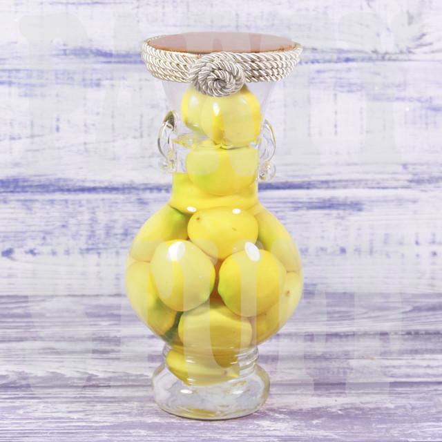 Декоративная бутылка Лимон