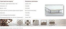 Двусторонний ортопедический  матрас с эффектом «зима / лето» МАККИАТО, фото 3