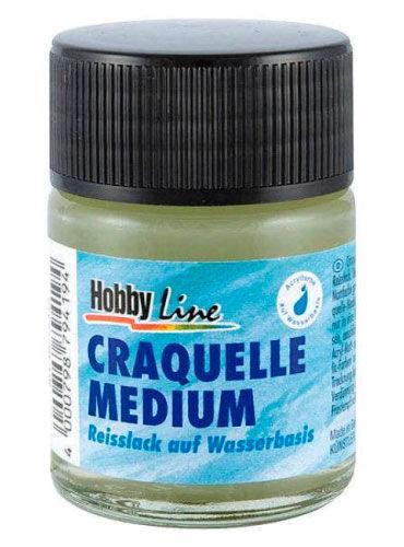 Лак акриловый Сатиновый KREUL 50мл бесцветный на основе синтетических смол KR-79407