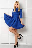 Синее красивое платье Барбара
