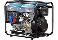 Генератор дизельный KONNER&SOHNEN KS 8100 HDE-1/3 ATSR (6.0 кВт)