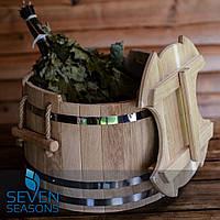 Запарник для веников дубовый Seven Seasons™ Expert, 30 литров